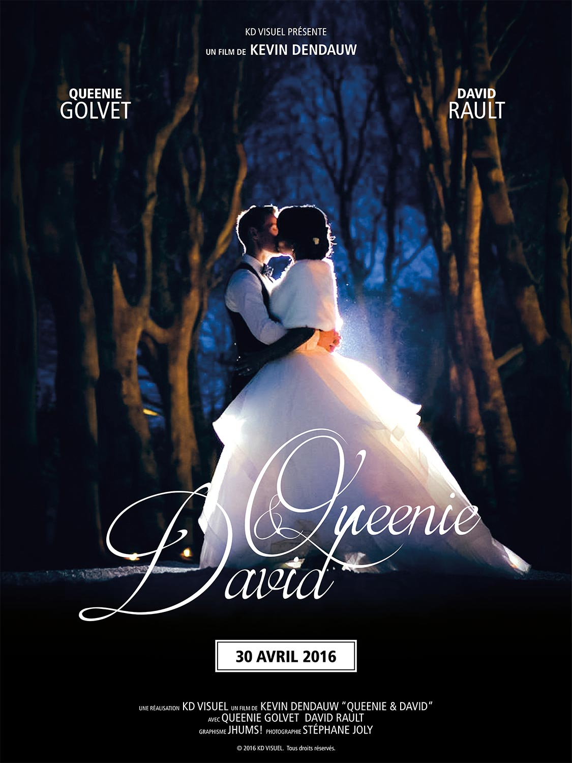 Affiche Queenie et David