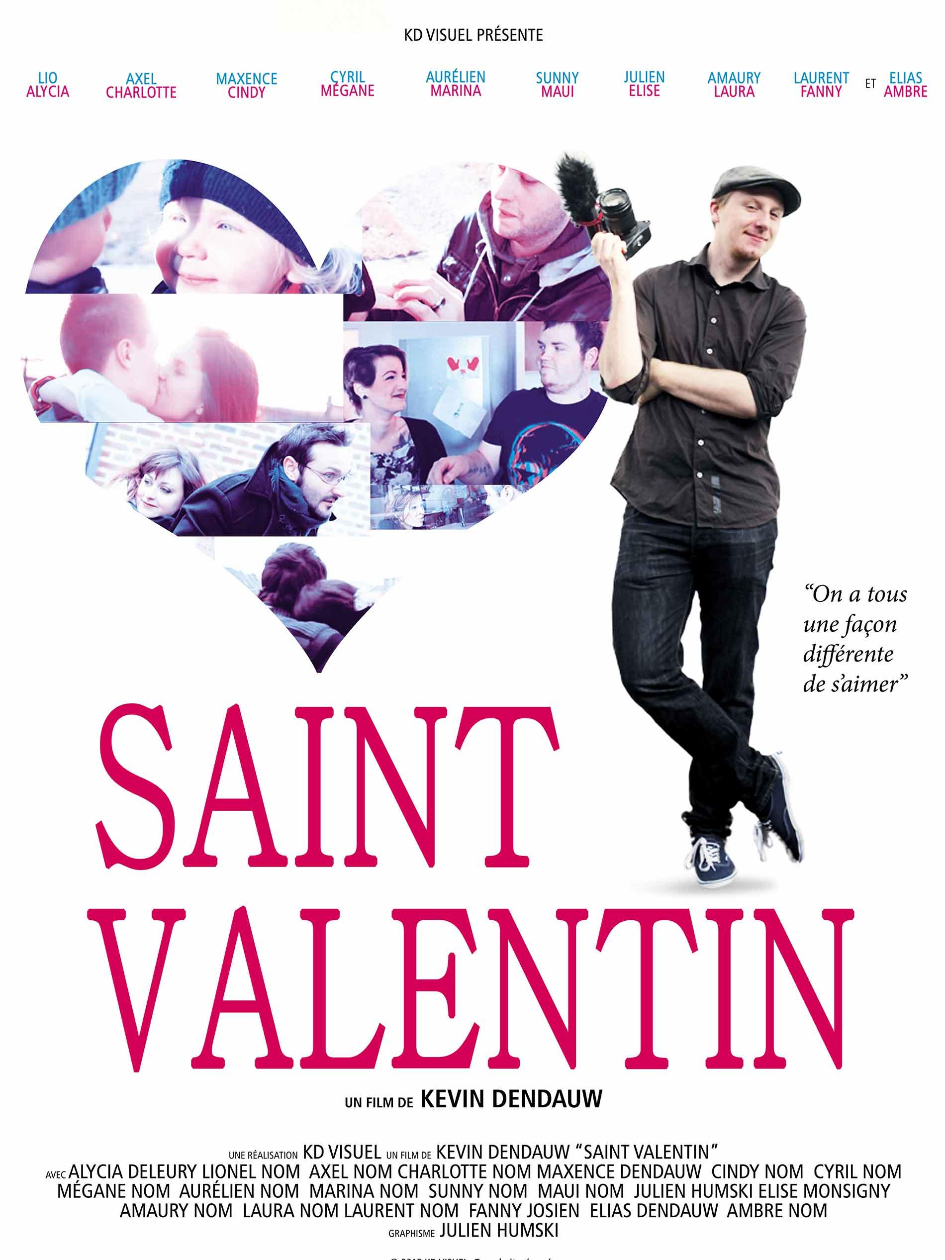 St Valentin l'affiche
