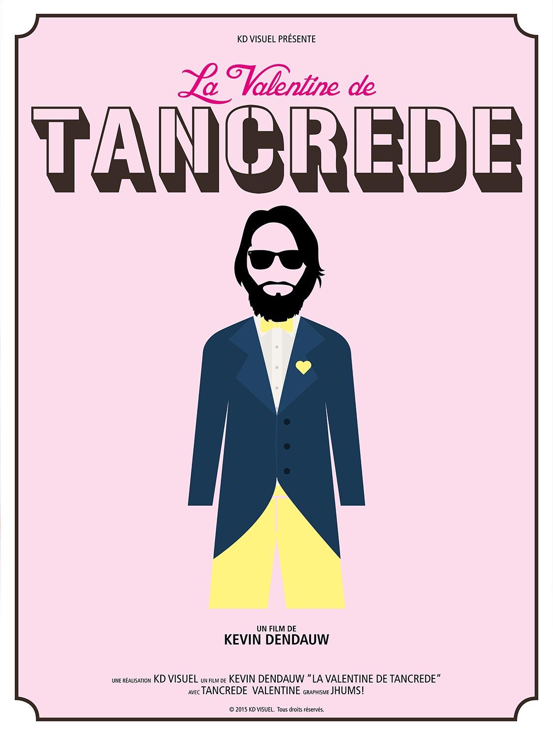 Affiche Valentine et Tancrede
