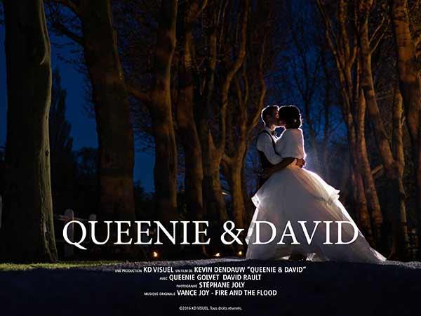 Mariage Queenie et David