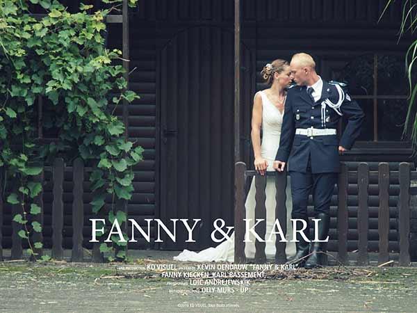 Mariage Fanny et Karl
