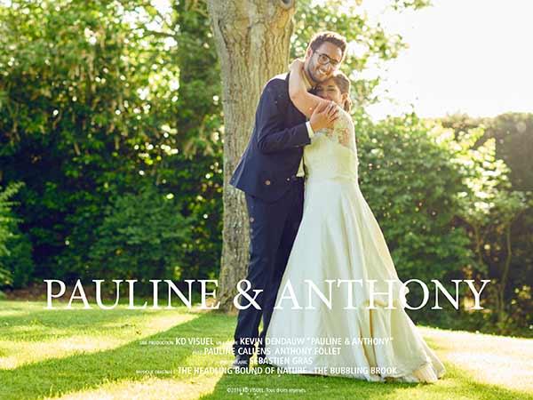 Mariage Anthony et Pauline