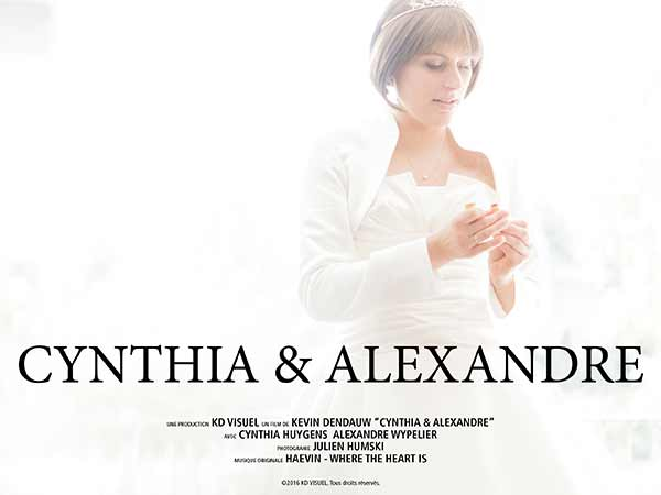 Mariage Cynthia et Alexandre