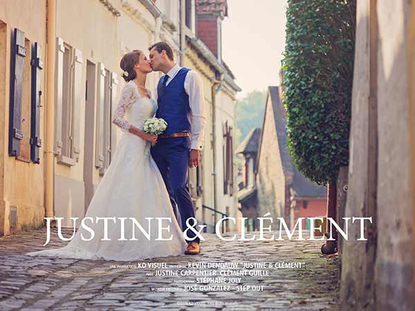 Mariage Justine et Clément