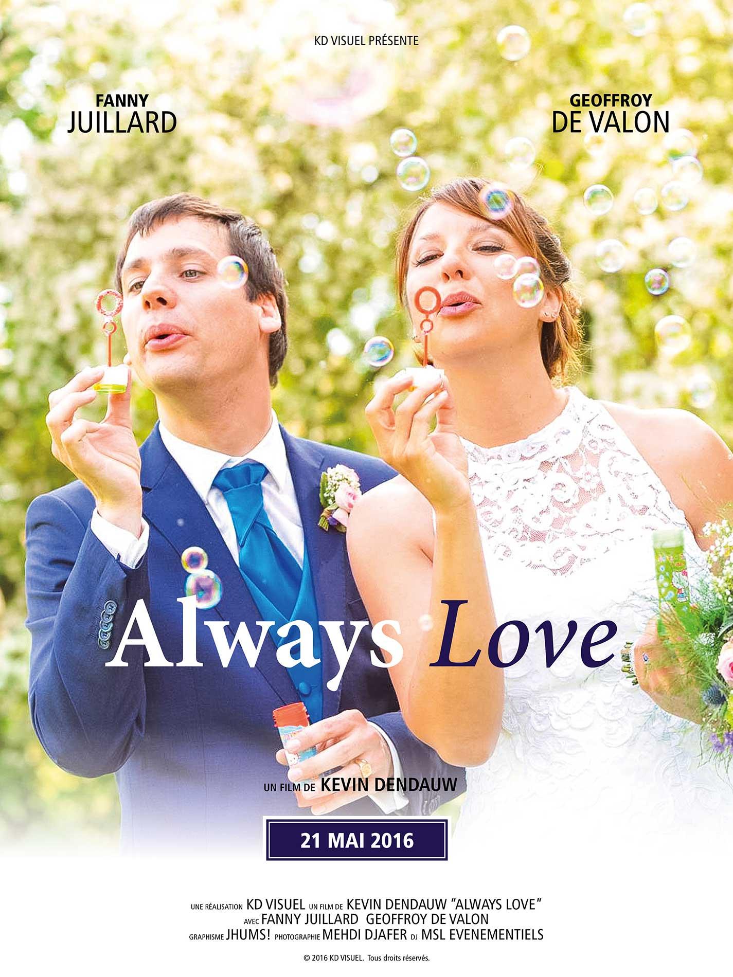 Affiche Mariage Fanny et Geoffroy