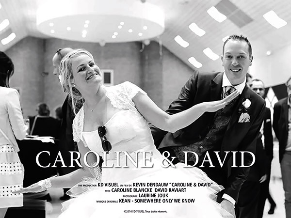 Mariage Caroline et David