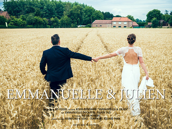 Mariage Emmanuelle et Julien