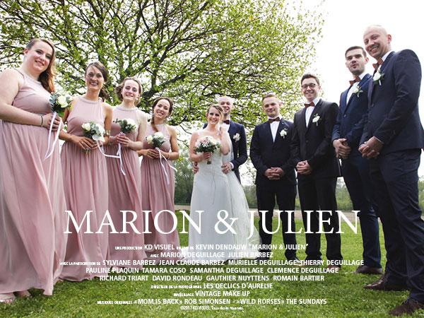 Mariage Marion et Julien