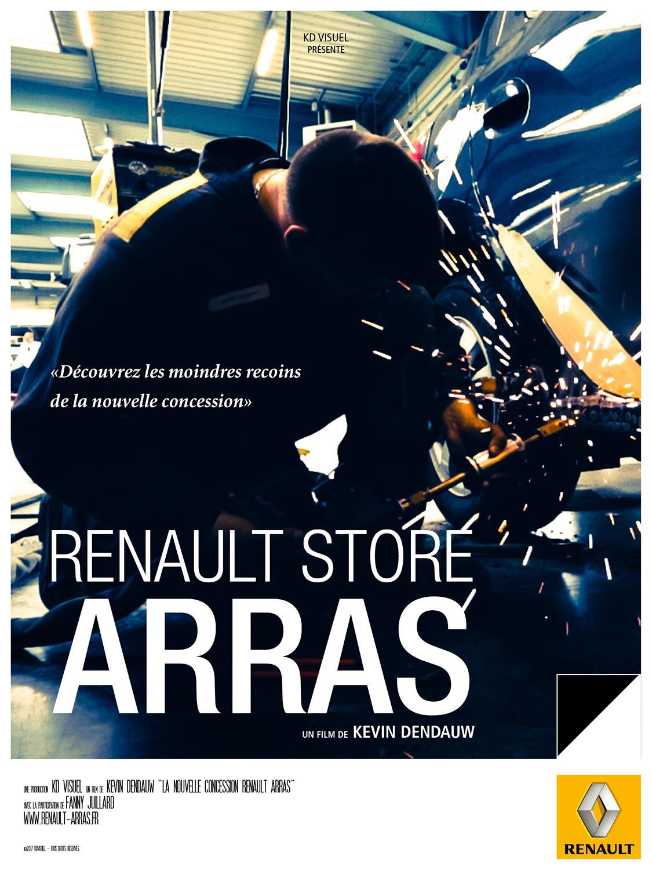 Affiche-Renault Arras