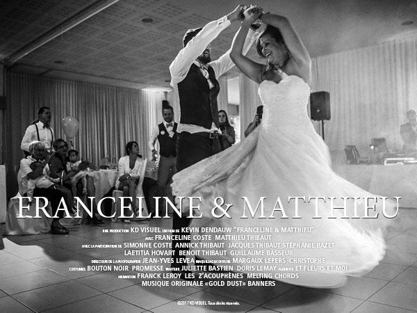 Mariage Franceline et Matthieu