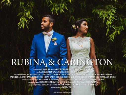 Mariage Rubina et Carington