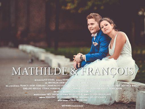 Mariage Mathilde et François