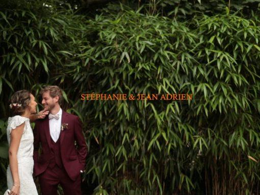 Mariage Stéphanie et Jean Adrien